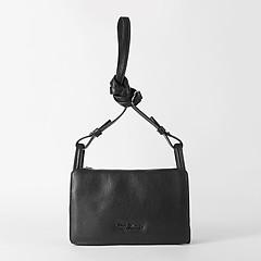 f888c06705f5 ... Черная кожаная сумочка кросс-боди на каждый день Tony Bellucci 0248  black