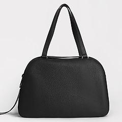 4ccaa815e2a2 ... Черная сумка-тоут на плечо из натуральной кожи Gilda Tonelli 0805 black
