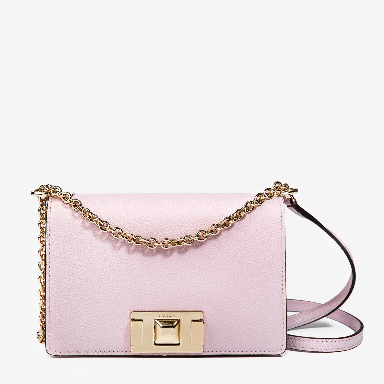 fea204ae30cc Маленькая кожаная сумочка Mimi розового цвета на цепочке – Италия ...