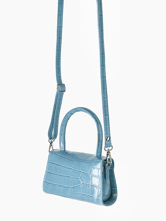 Jazy Williams 1007 blue croc