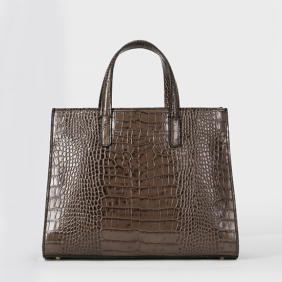 Agata 1059 croco wood black