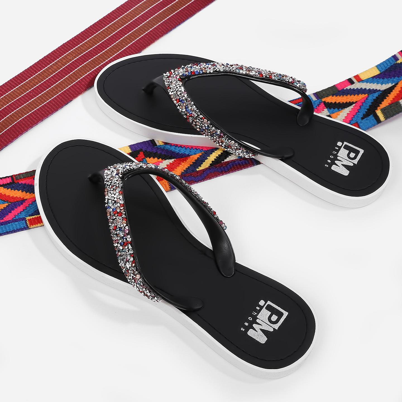 d564660f0a97 Сланцы PM.Shoes 11041 701 black multicolor – Китай, черного цвета ...