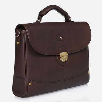 Мужской портфель Backster 12038 brown