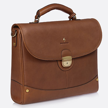 Мужской портфель Backster 12038 cognac