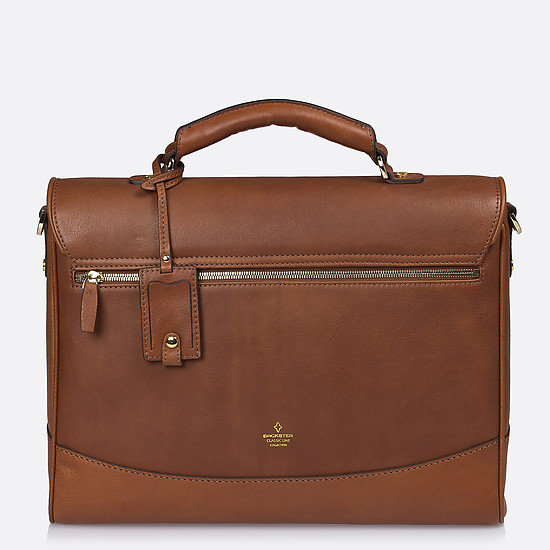 Портфели Backster 12038 cognac