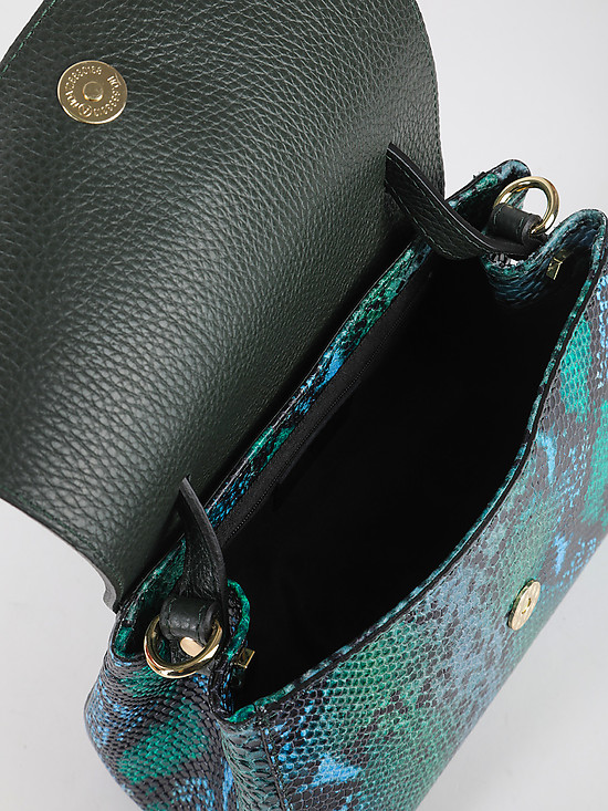 BE NICE 124 multicolor python green