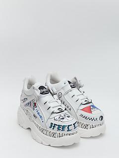 f2b7ffcc4 Белые кроссовки с принтом граффити Buffalo 1339_14_1533077_grafiti Белые  кроссовки с принтом граффити Buffalo 1339_14_1533077_grafiti
