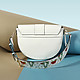 Cromia 1403709 light blue froggy belt