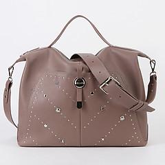 670e0b3b951e ... Вместительная мягкая сумка из кожи в оттенке капучино на каждый день  или для путешествий KELLEN 1435