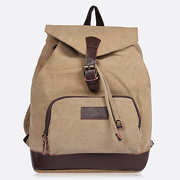 Рюкзак Polar 1486 beige brown