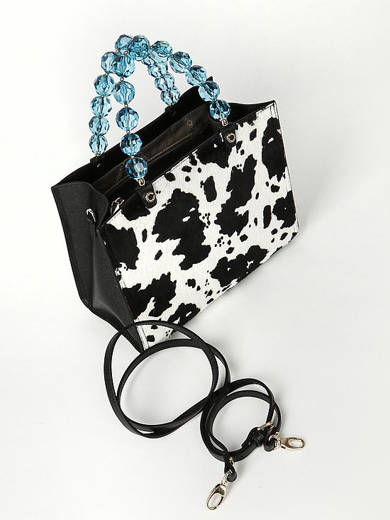Roberta Gandolfi 1802 black white cow