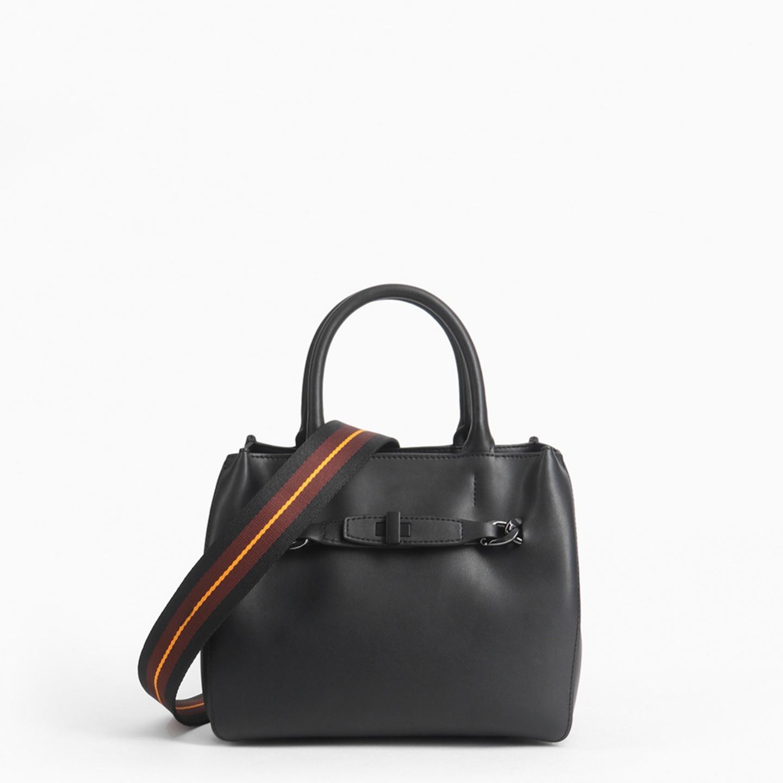 f268a8474939 Небольшая черная кожаная сумка с декоративной цепью – Китай, черного ...