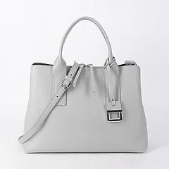 ... Светло-серая кожаная сумка с тремя отделами Innue 191 cervo light grey 07e14bf6fe6