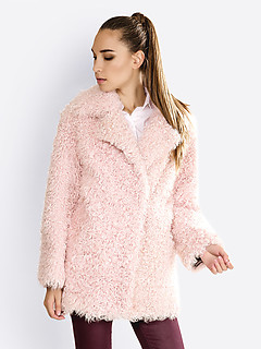 Шуба Alice street 2116 light pink