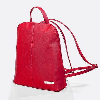 Рюкзак Richet 2130-08 saffiano red
