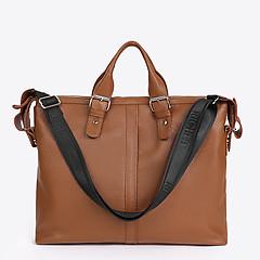 3e13d11b6050 ... Кожаная сумка-портфель коньячного цвета большого размера Richet 2319  cognac