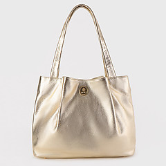 aa898de01715 ... Золотистая сумка-тоут среднего размера из мягкой кожи Richet 2451 gold