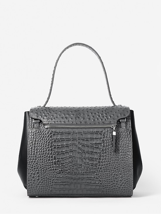KELLEN 2475 black grey croc