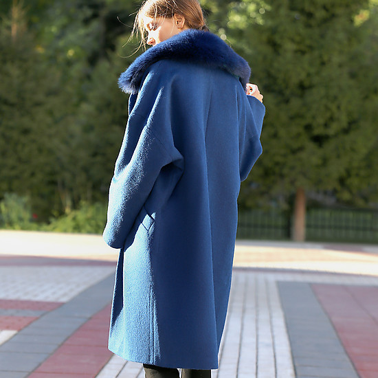 Пальто Natiso 25 16  blue