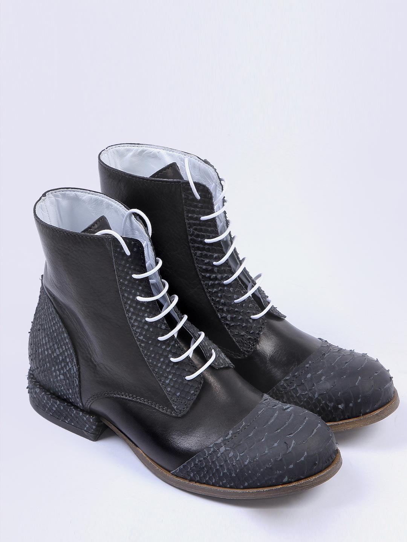 5c963f19 Ботинки Joe Nephis 260DV001 python black – Италия, черного цвета ...