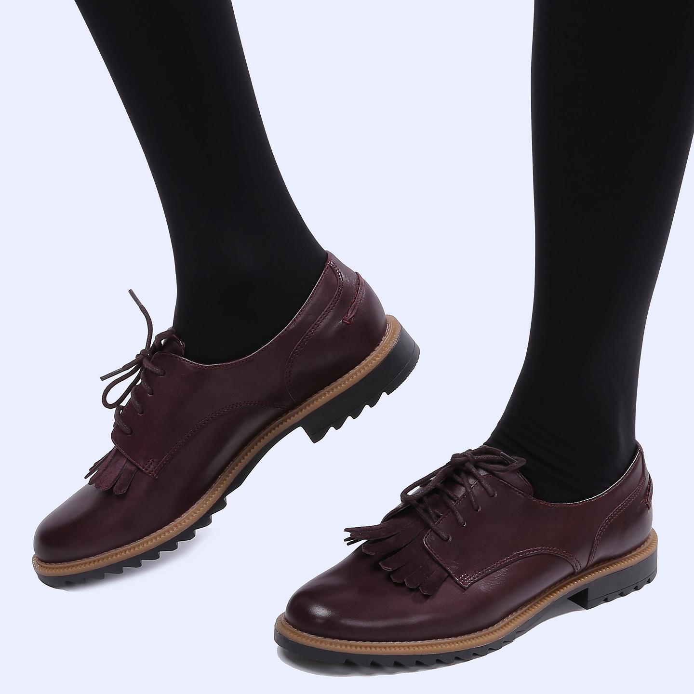 Ботинки Clarks 26118605 bordo – Вьетнам cd229bccf6f50
