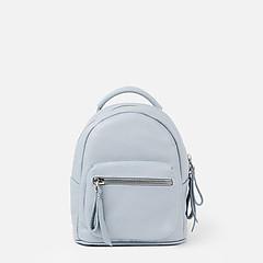 acab3b7518e4 ... Миниатюрный кожаный рюкзак в голубом цвете Richet 2627 blue sky