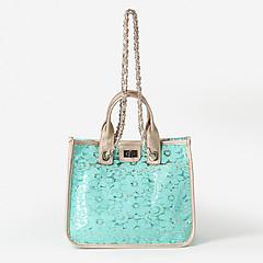 a431f5b34819 ... Романтичная сумка-тоут с бирюзовым кружевом Richet 2671 turquoise
