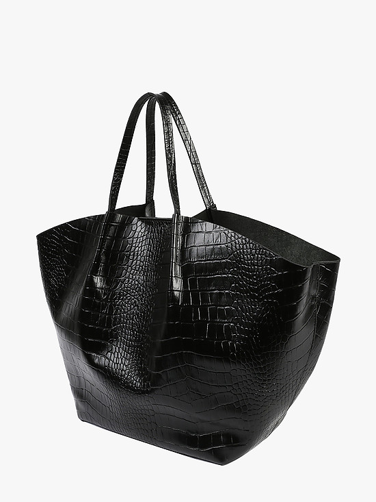 Jazy Williams 2826 black croc
