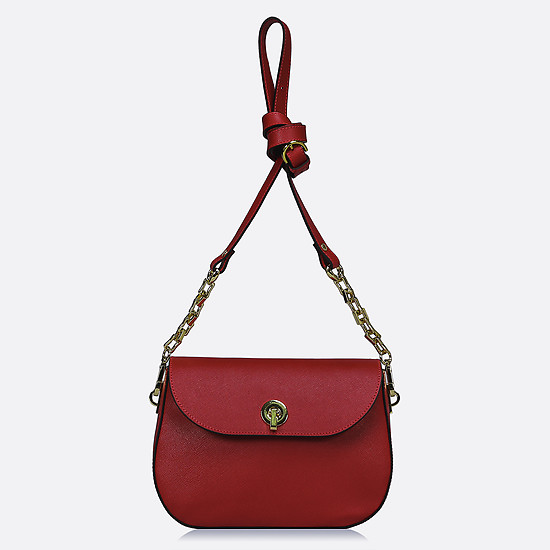 Deboro 3098 red saffiano