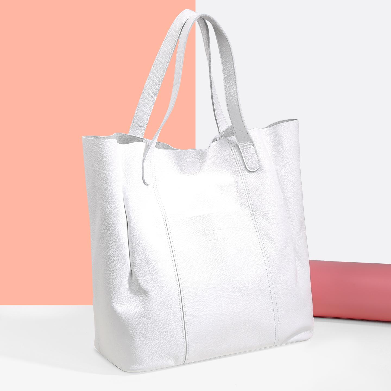 ae52ff51c9b4 Белая сумка-шоппер – Россия, белого цвета. Купить в интернет ...