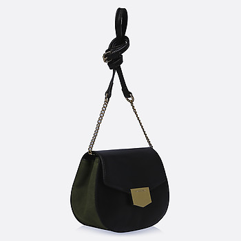 Экосумка David Jones 3248 black green