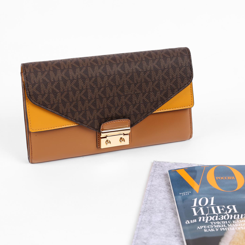 3035f11de3ba Комбинированная сумочка-клатч – , коричневого цвета, натуральная ...