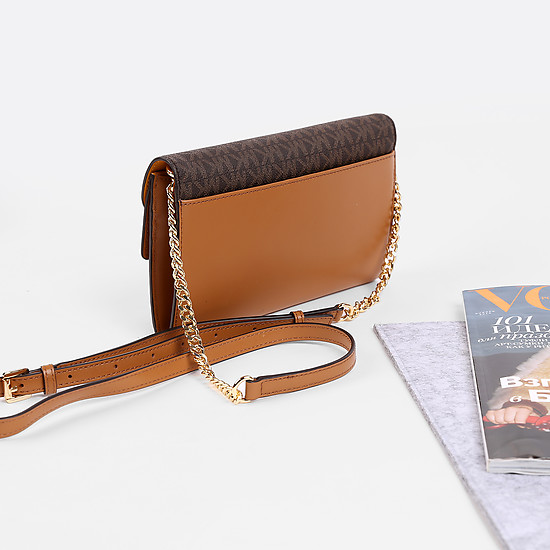 Сумки через плечо Michael Kors 32F7GSLF3B mango brown