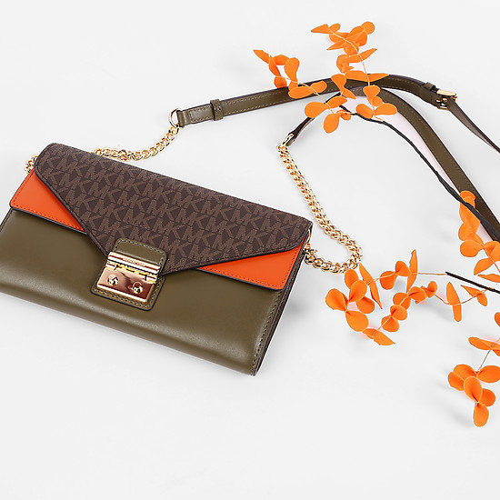 Michael Kors 32F7GSLF3B olive orange