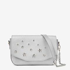 6edc9865a9a5 Серебряные женские сумки через плечо – купить в Москве в интернет магазине  SUMOCHKA.COM