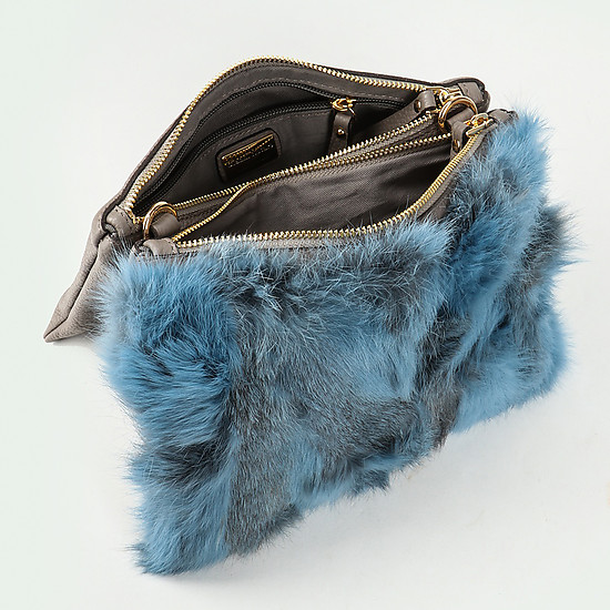 Gianni Notaro 337 blue fur