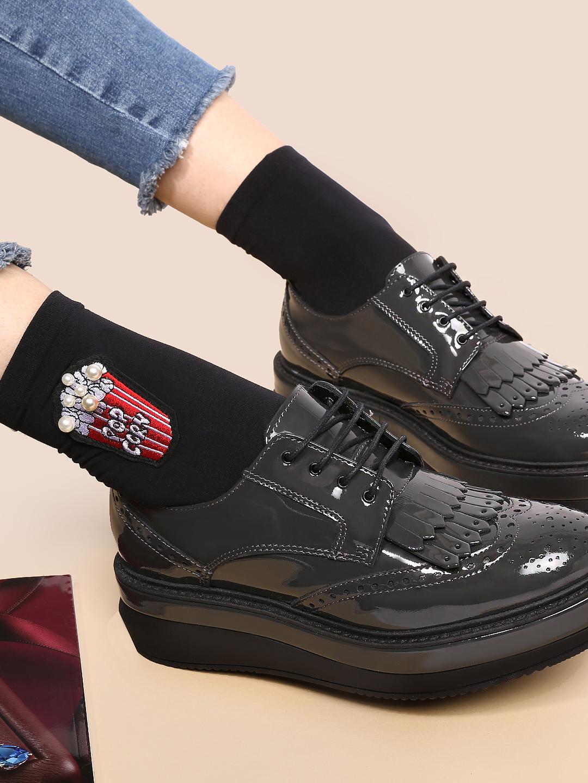 83caac8f1dd5 Ботинки Peperosa 3420-4 grey – Италия, серого цвета, натуральная ...
