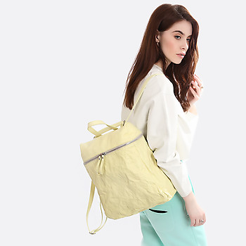 Рюкзак IO Pelle 3520 yellow cream