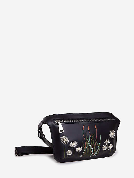Azaro 3557 black flowers