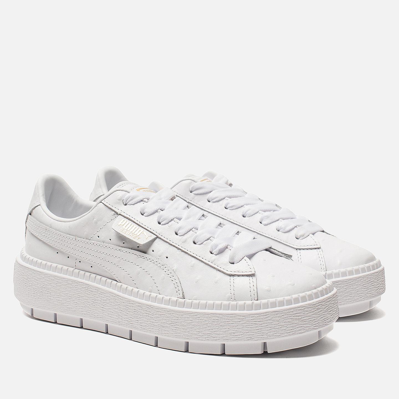 Кроссовки Puma 366684 02 white – Вьетнам, белого цвета, натуральная ... 2ebcf95a1aa