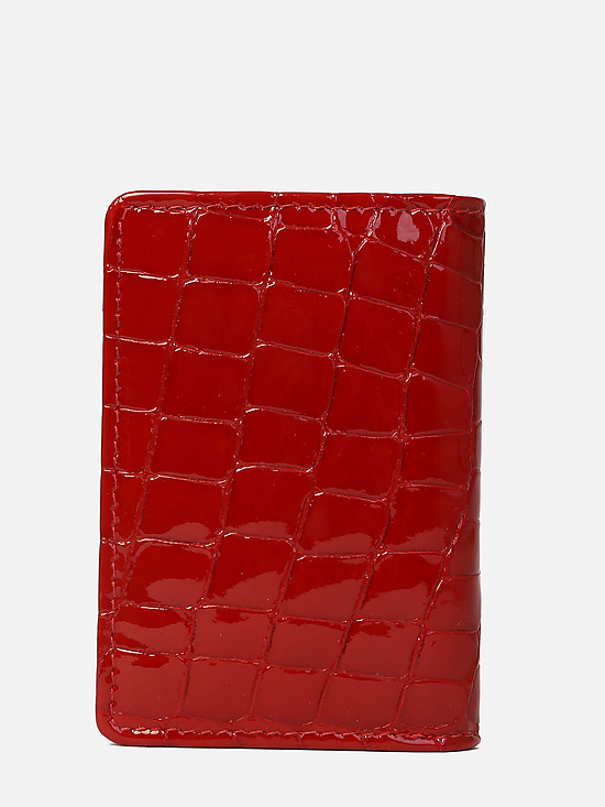 Braun Buffel 40400-020-081 red croc gloss