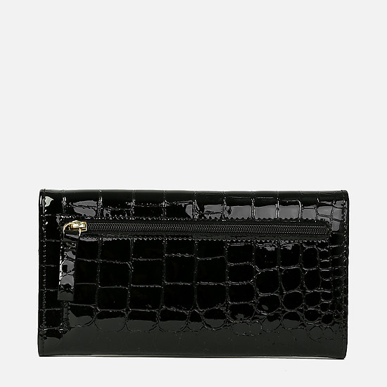 Braun Buffel 40430-020-010 black croc gloss