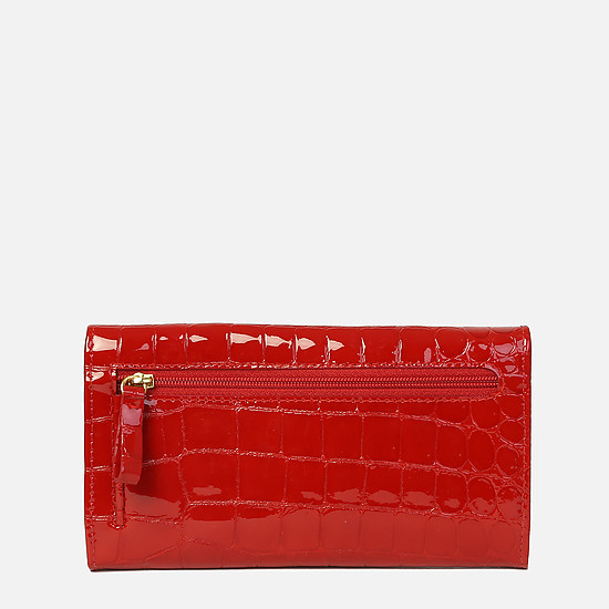 Braun Buffel 40430-020-081 red croc gloss