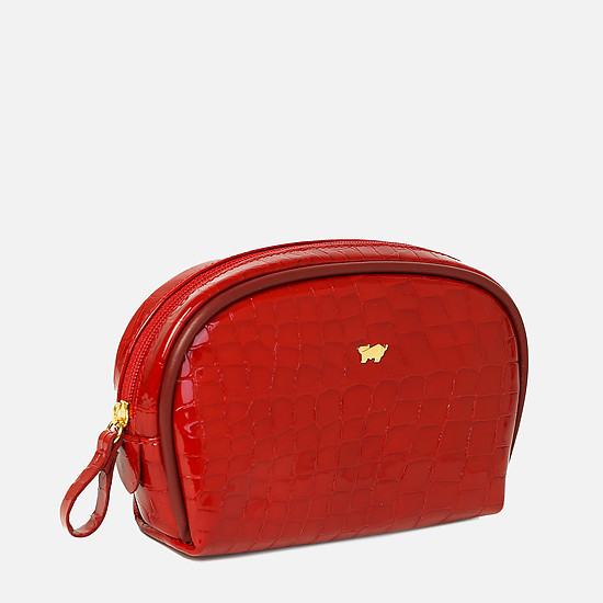 Braun Buffel 40900-020-081 red gloss croc