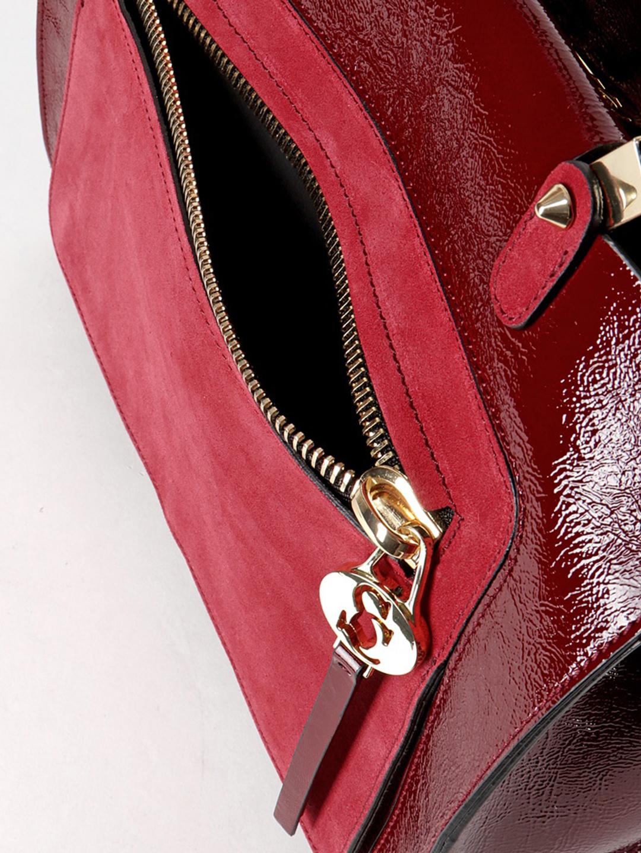 Классические сумки Carlo Salvatelli 450 bordo gloss chamois · Сумка-тоут  бордового цвета ... 4c5890294e0