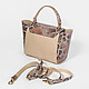 Lucia Lombardi 503 beige brown python