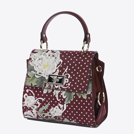 Alessandro Beato 542-S112 bordo white flowers