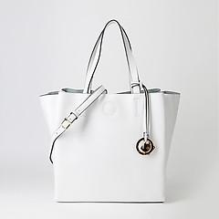 aa31c2513835 ... Белая сумка-трапеция из мягкой кожи Alessandro Beato 547-XH169 white