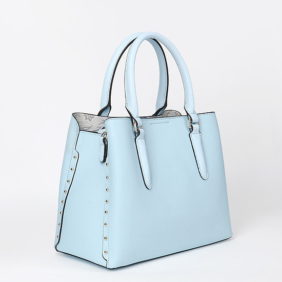 Alessandro Beato 579-S1010 light blue saffiano