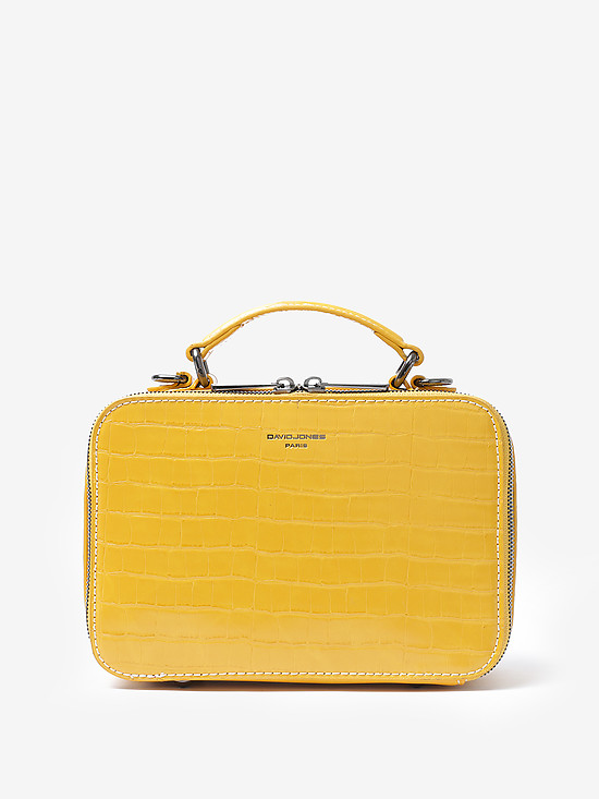 David Jones 6145-3 yellow croc
